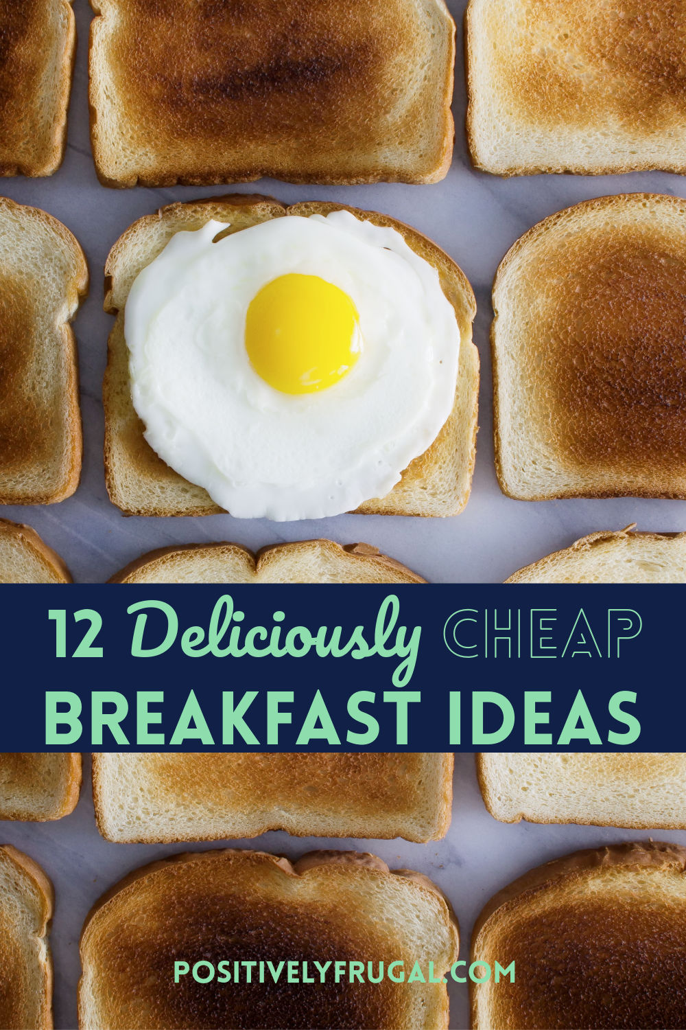 Delicously Cheap Breakfast Ideas by PositivelyFrugal.com