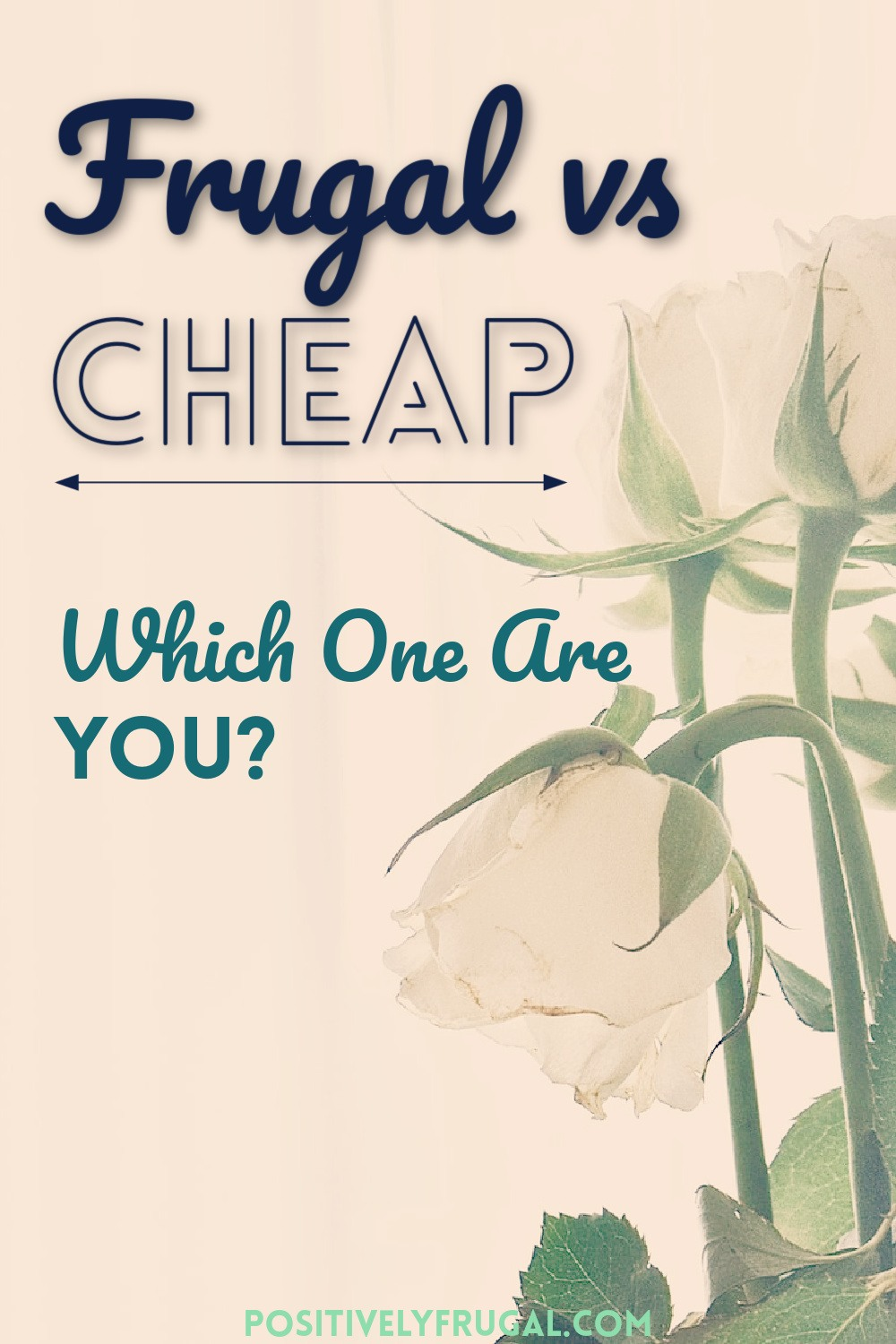 Frugal vs Cheap Which One Are You by PositivelyFrugal.com