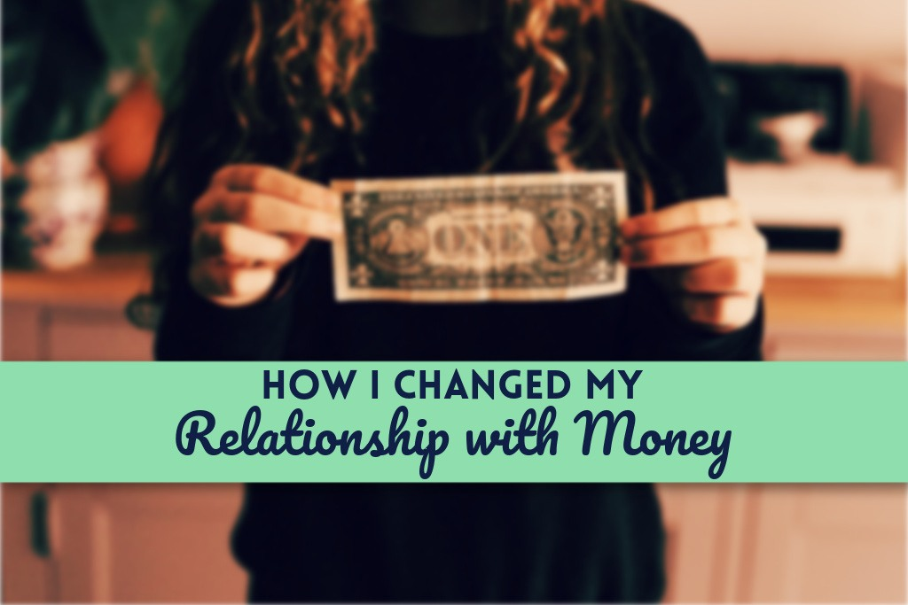 How I Changed My Relationship with Money by PositivelyFrugal.com