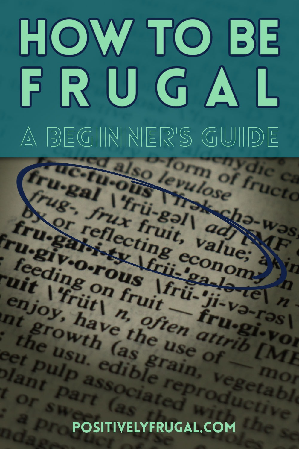 How To Be Frugal Beginner's Guide by PositivelyFrugal.com