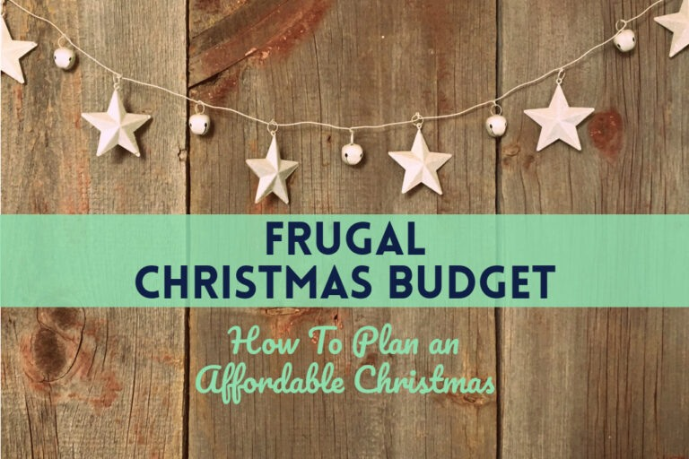 Read more about the article Frugal Christmas Budget: How To Plan an Affordable Christmas