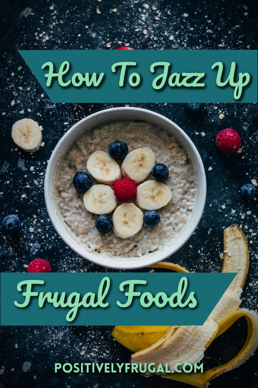 Frugal Foods by PositivelyFrugal.com