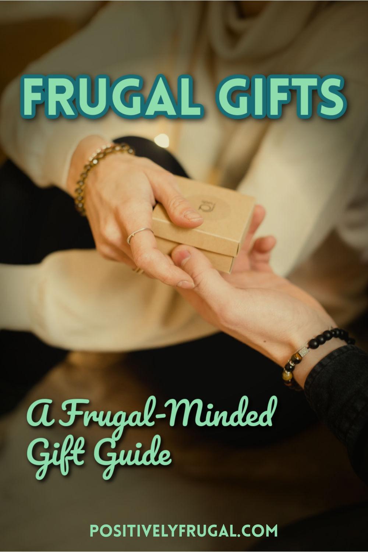Frugal Gifts Frugal Minded Gift Guide by PositivelyFrugal.com