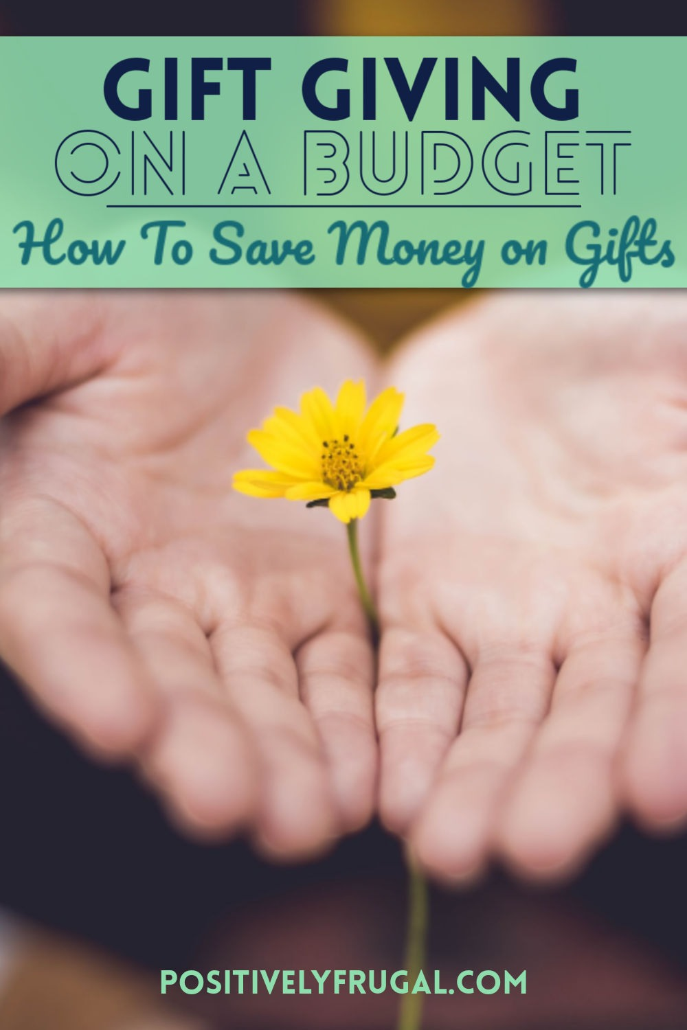 Gift Giving on a Budget Save Money on Gifts by PositivelyFrugal.com