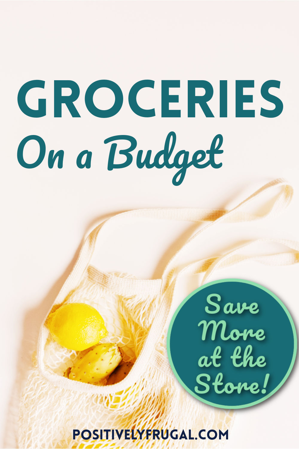 Groceries on a Budget Save More at the Store by PositivelyFrugal.com