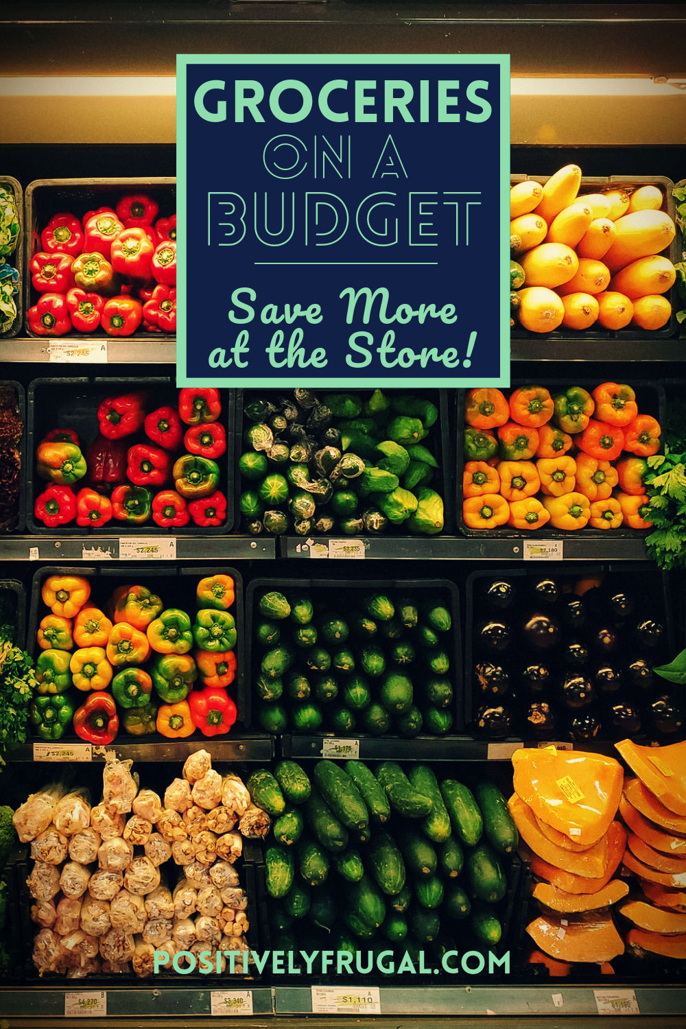 Groceries on a Budget Save More by PositivelyFrugal.com