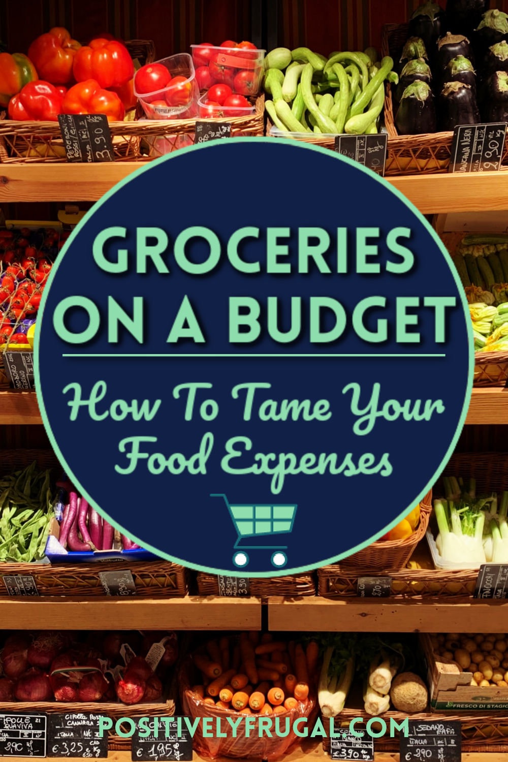 Groceries on a Budget by PositivelyFrugal.com