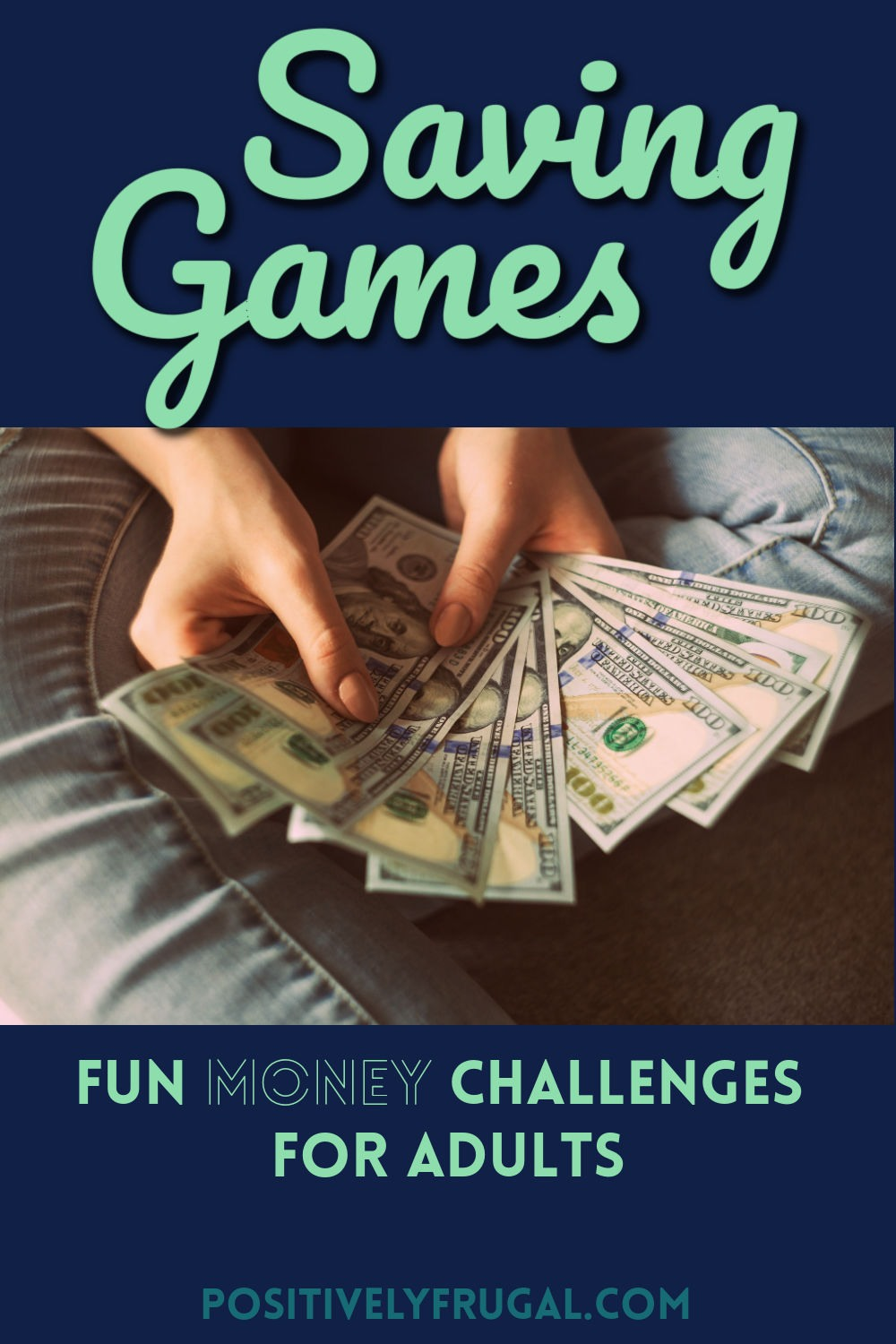 Saving Games Challenges for Adults by PositivelyFrugal.com
