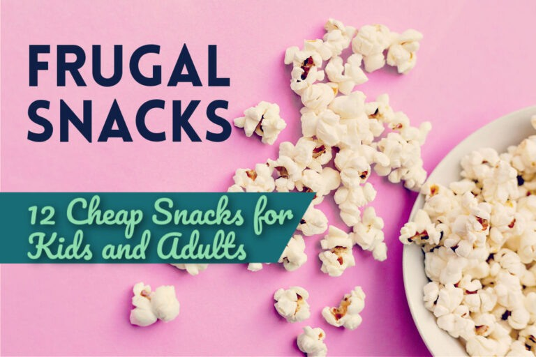 Read more about the article Frugal Snacks: 12 Cheap Snacks for Kids and Adults