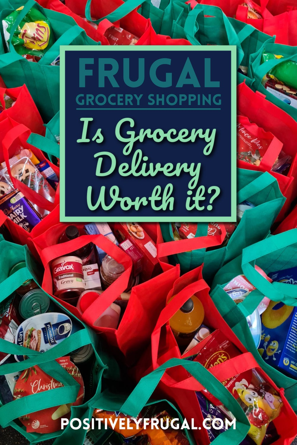 Frugal Grocery Shopping Delivery Worth It by PositivelyFrugal.com