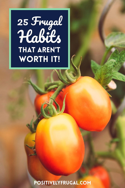 25 Frugal Habis That Aren't Worth It by PositvelyFrugal.com