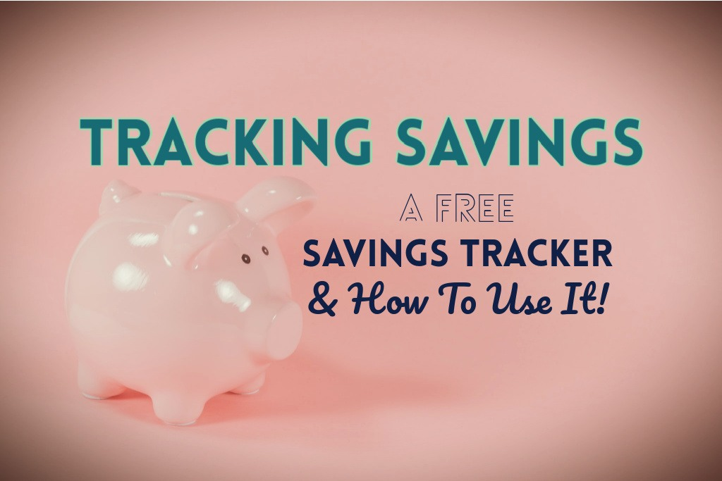 Read more about the article Tracking Savings: A Free Savings Tracker (and How To Use It!)