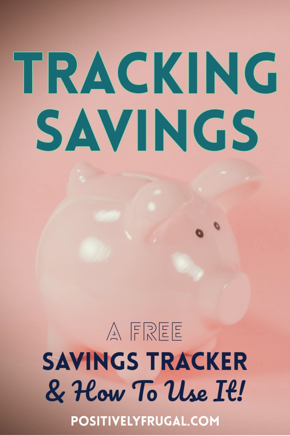 Tracking Savings Free Savings Tracker How To Use It by PositivelyFrugal.com